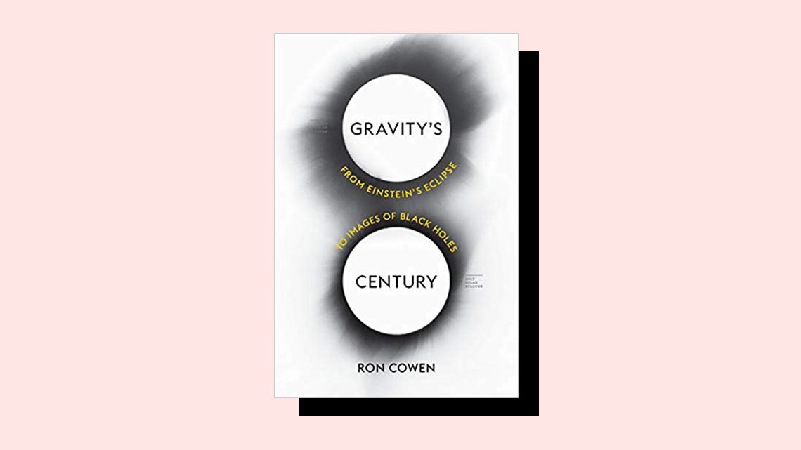 """Gravity's Century"" book cover by Ron Cowen"