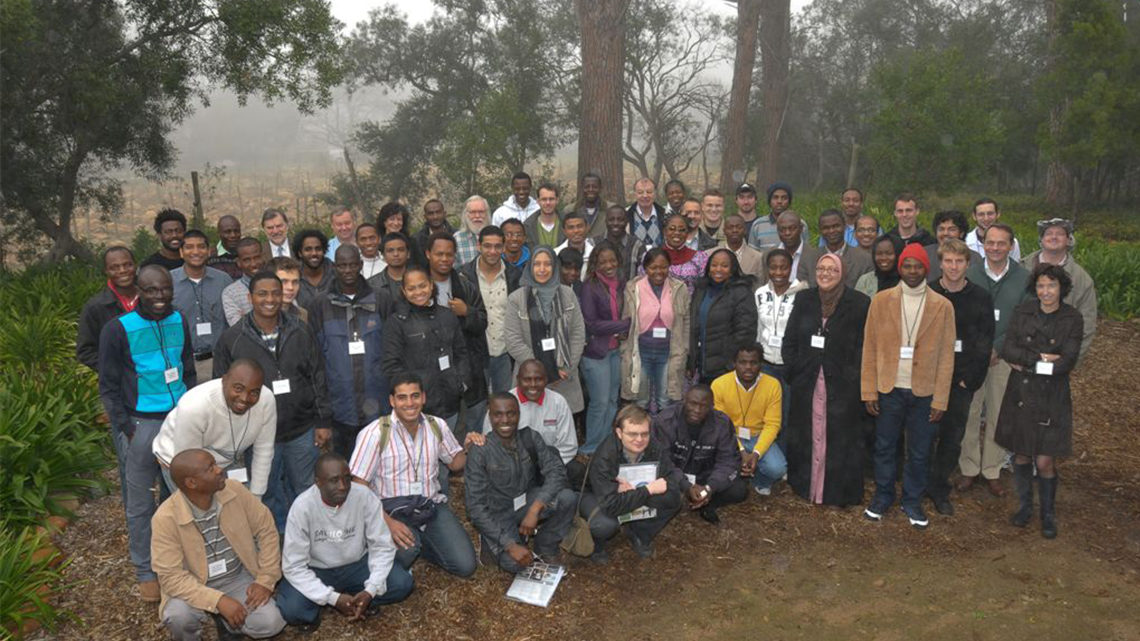 Group in Stellenbosch 2010