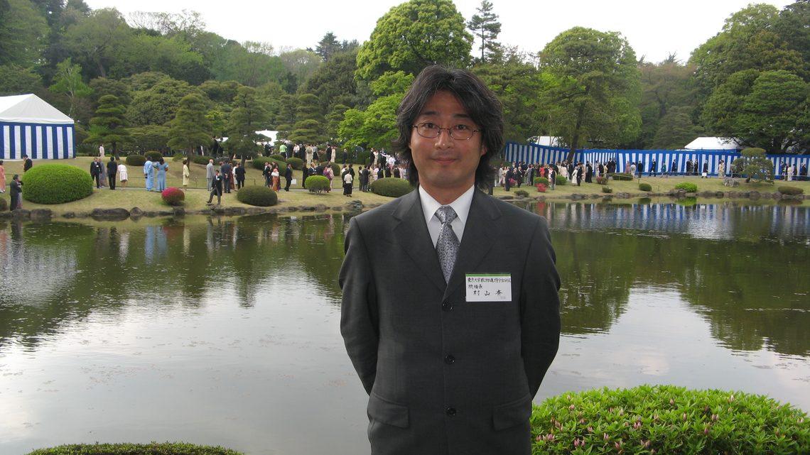 Hitoshi Murayama at the event