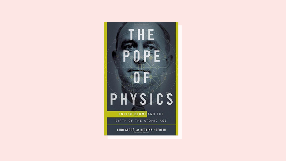 """The Pope of Physics"" book cover"