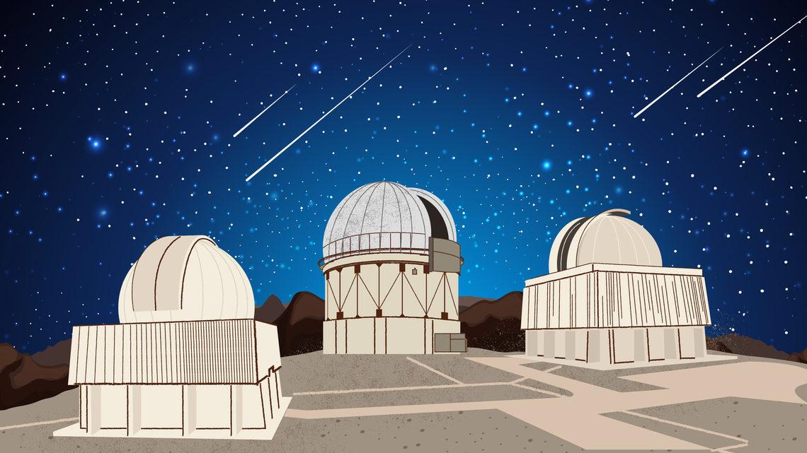Chile, Atacama Desert, Cerro Tololo Inter-American Observatory, LSST, E-ELT, GMT