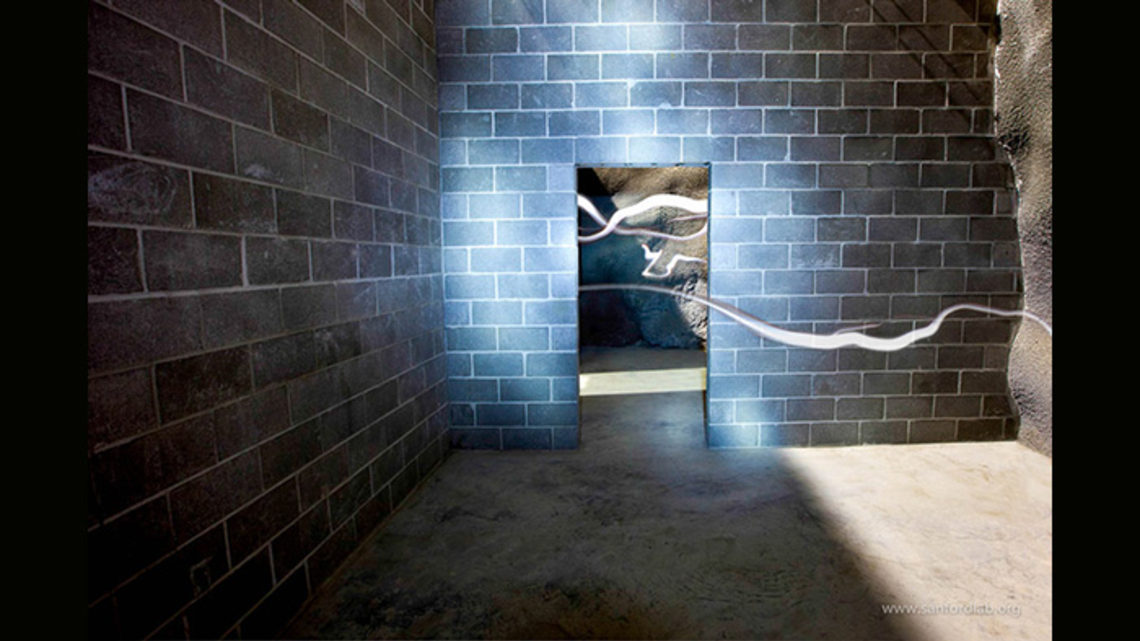 "Photo of ""Light streaks"" at SURF art show"