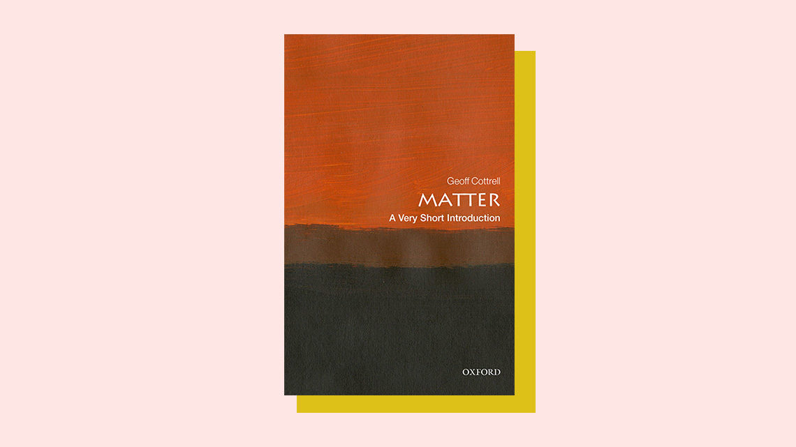 """Matter"" book cover by Geoff Cottrell"