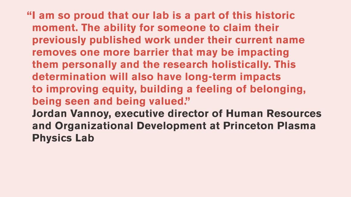 Jordan Vannoy, Princeton Plasma Physics Lab