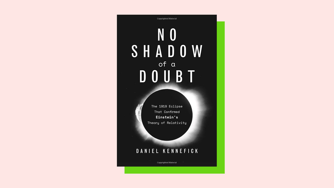 """No Shadow of a Doubt"" book cover by Daniel Kennefick"