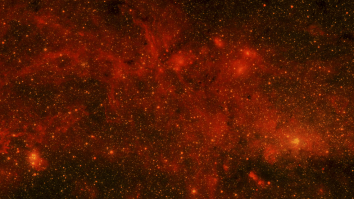 Image: The Milky Way's hot spot