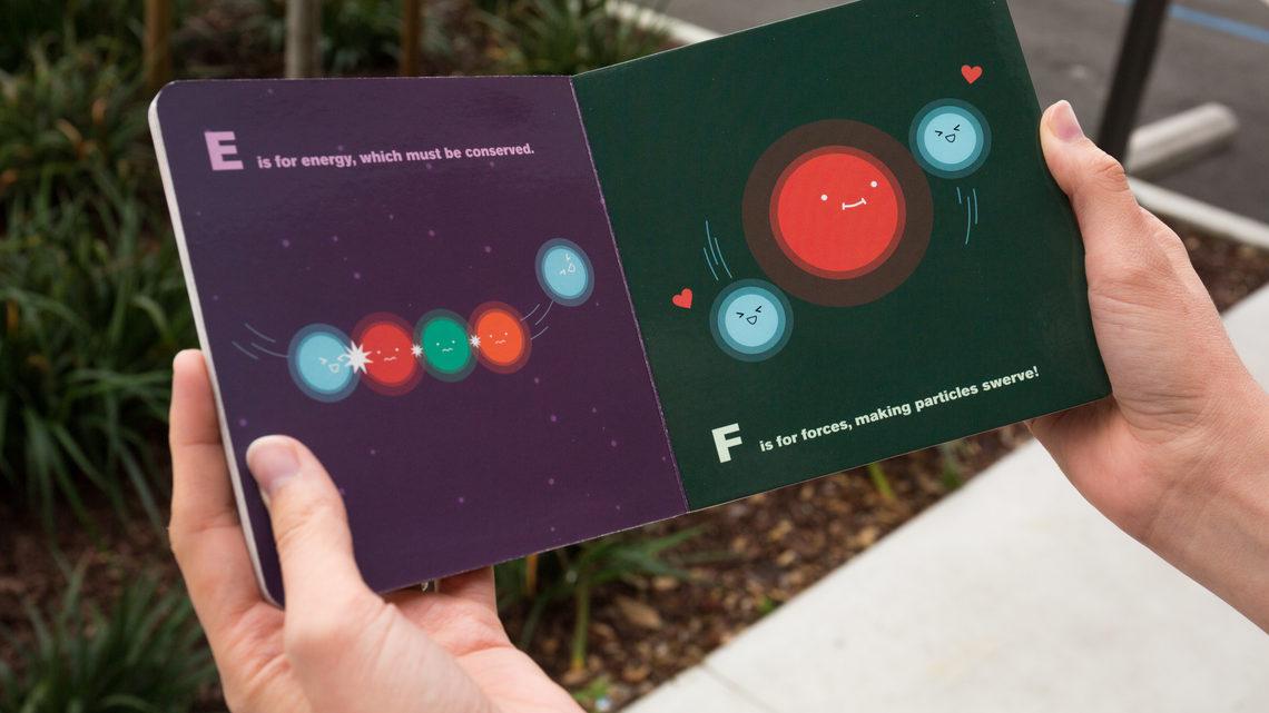 ABC's of particle physics E&F spread