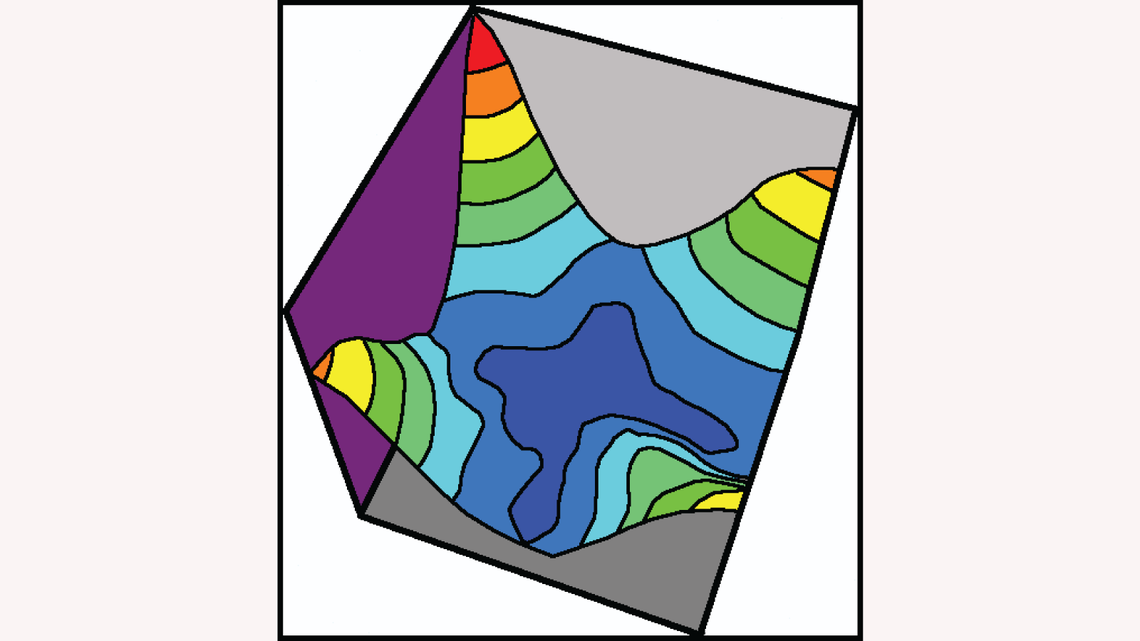 Stained glass plot