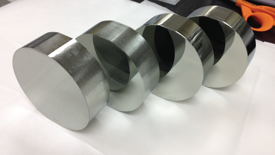 Completed fabrication of four SuperCDMS SNOLAB iZIP detectors at the Stanford Nanofabrication Facility (SNF).