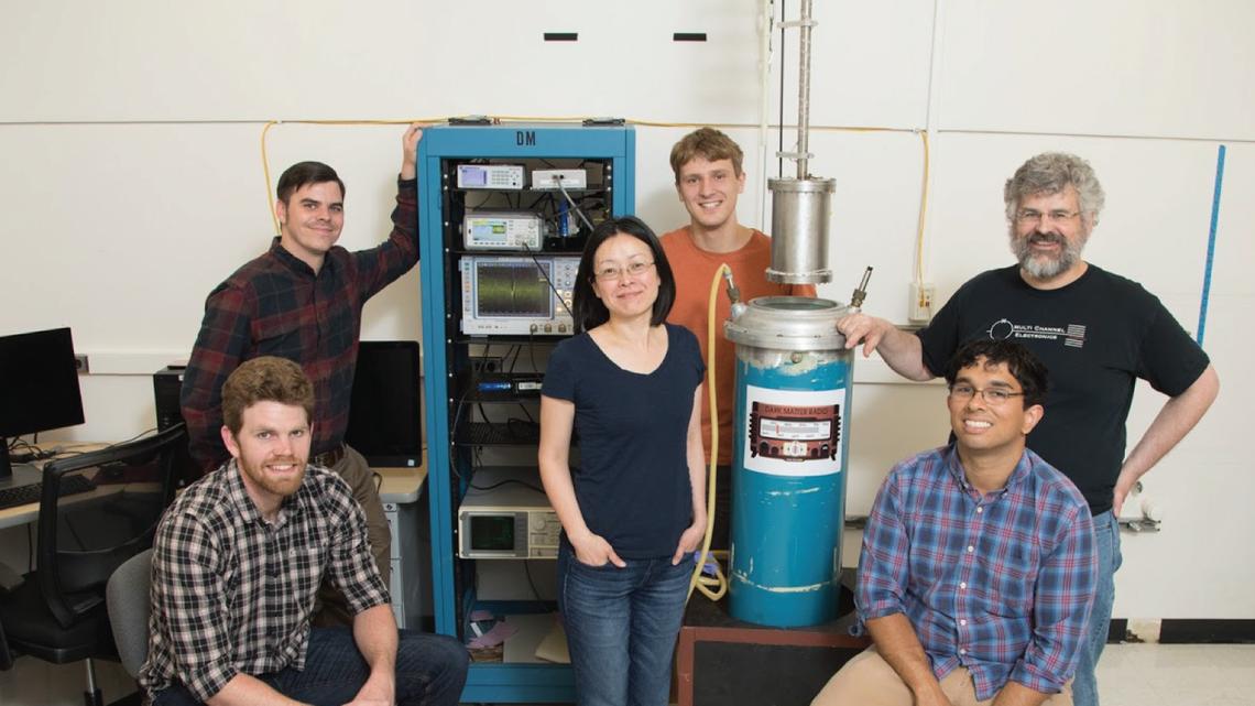 Team that worked on dark matter radio