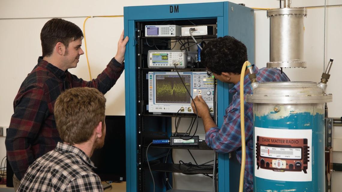 Fermilab team working on dark matter radio