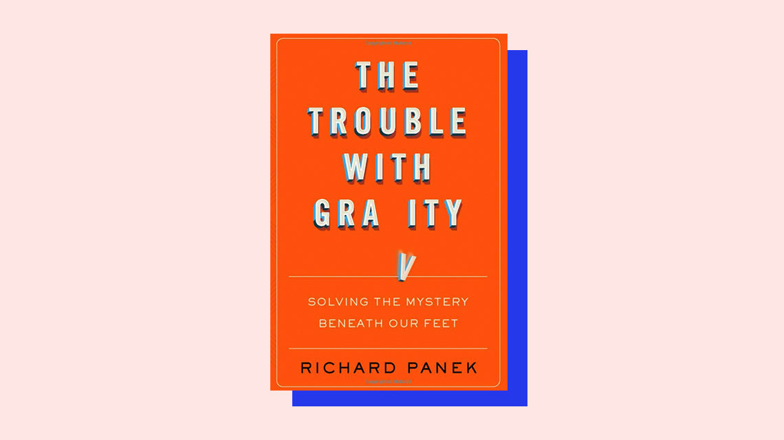 """The Trouble With Gravity"" book cover by Richard Panek"