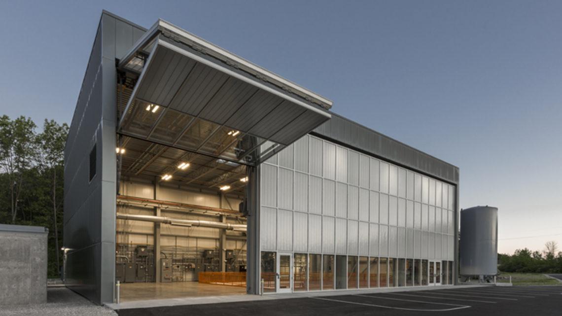 Photograph of the SBN Near Detector Building