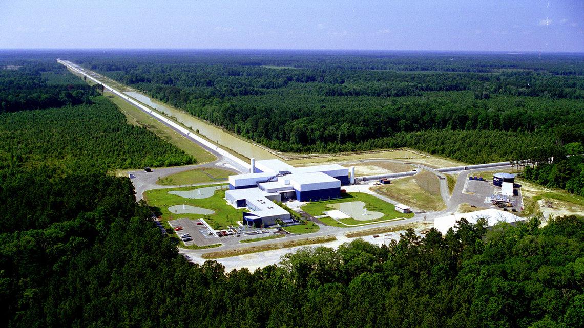 LIGO Livingston aerial