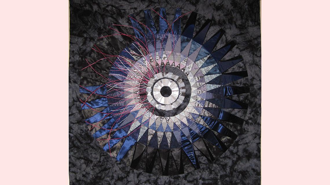 A collider quilt