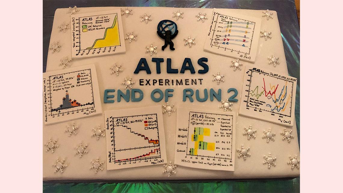 ATLAS End of Run 2 Cake