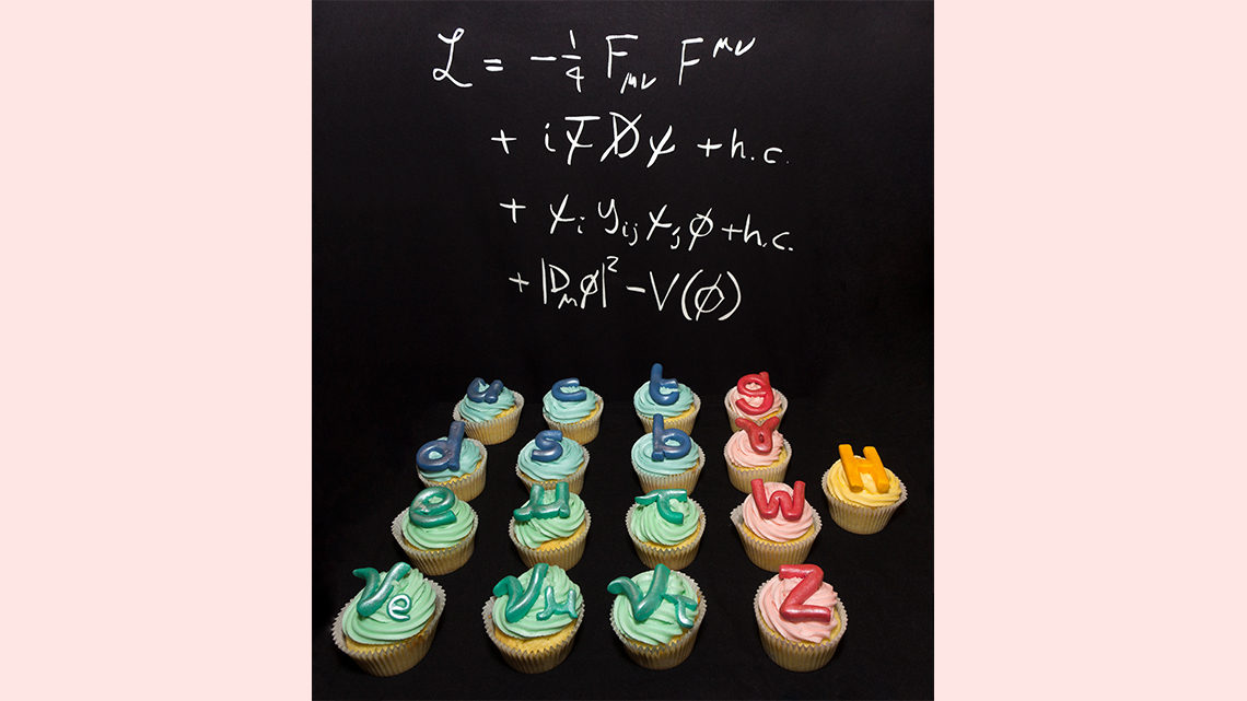 Standard Model cupcakes