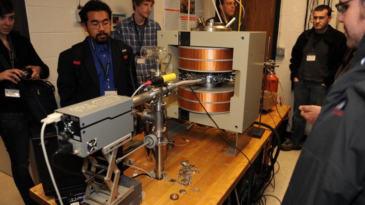 Houghton College cyclotron