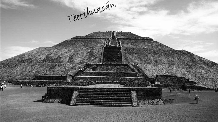 The pyramid at Teotihuacan