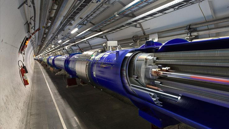 Photo of the Large Hadron Collider