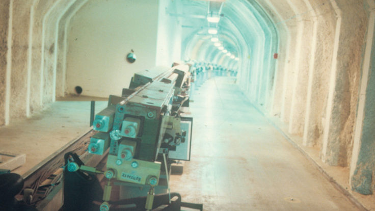 Photo of fixed target and collider experiments