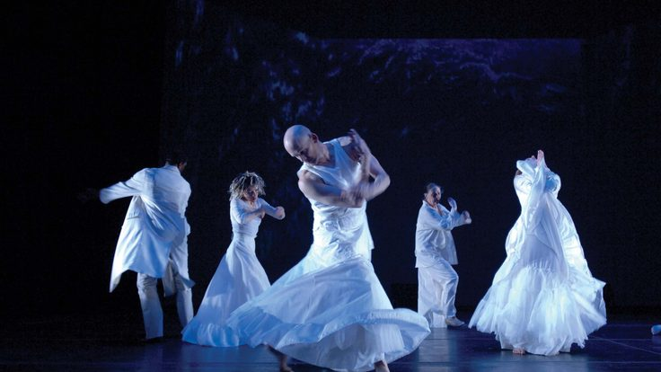 "Dancers perform ""Ferocious Beauty: Genome"""