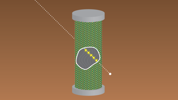 An illustration of a detector