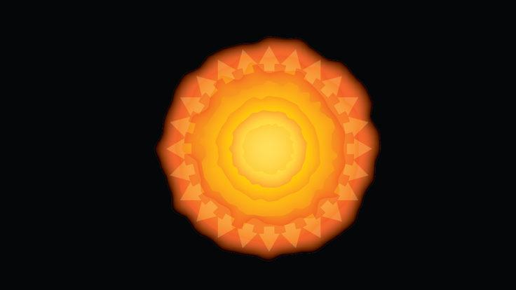 Illustration of The Big Bang