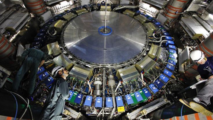 Photo: Inside ATLAS