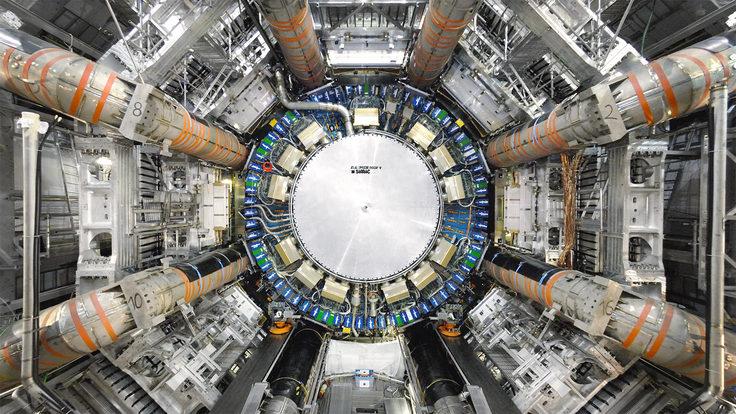 Image: ATLAS detector 2007