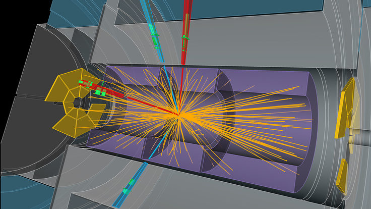 Image: ATLAS Higgs event
