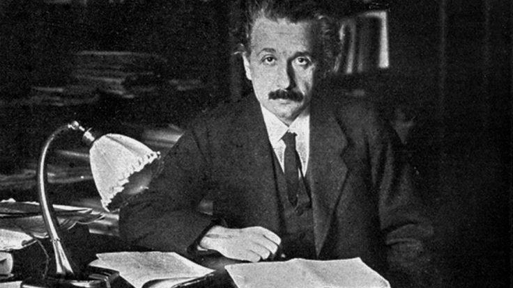 Photo of young Einstein