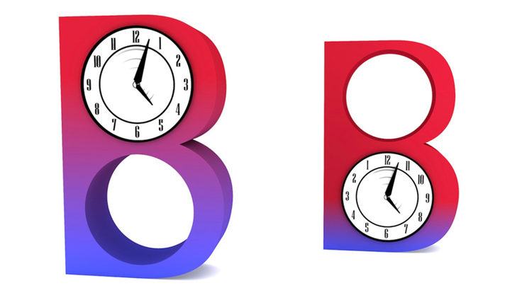 BaBar time asymmetry
