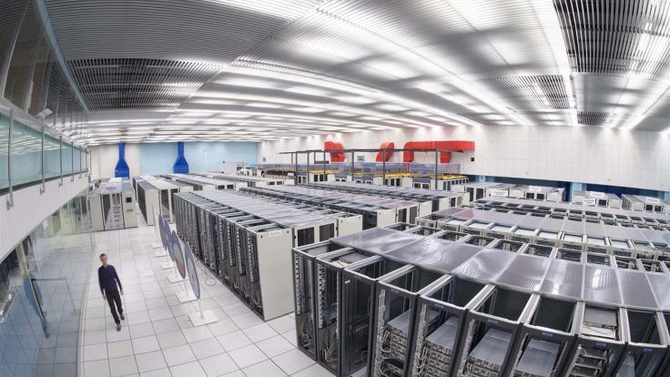 Photo of CERN Computer Centre