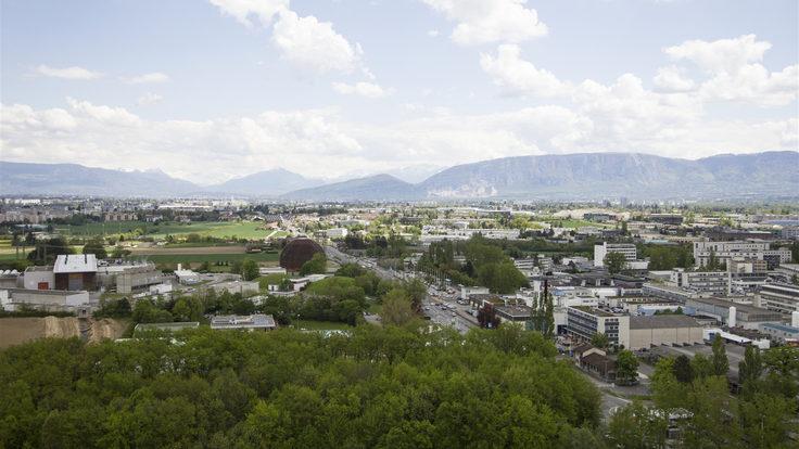 Photo of CERN campus