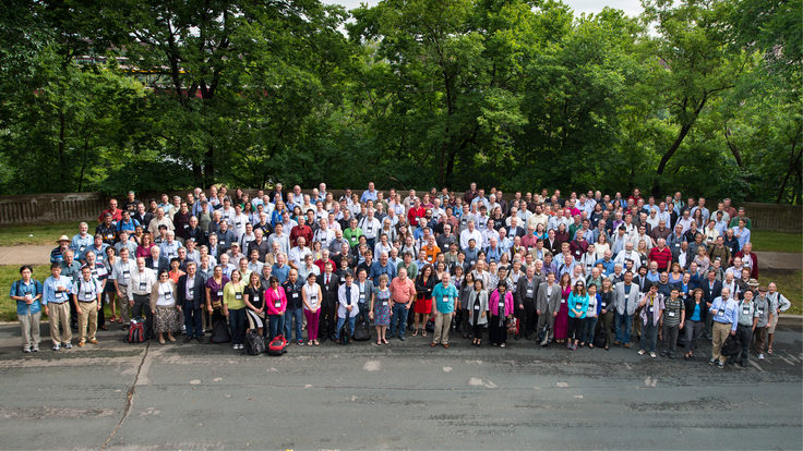 Group photo of the future of US particle physics