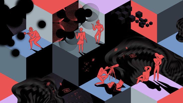 Scientists in search of dark matter