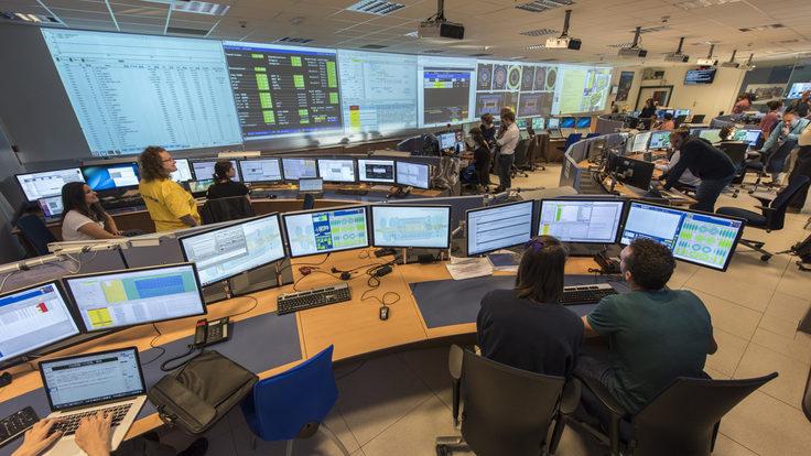 Photo of 3 June 2015, ATLAS began recording physics data from 13 TeV proton collisions