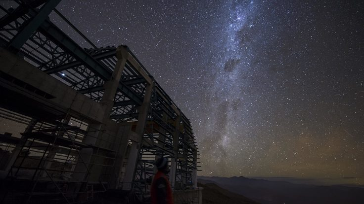 In March 2017 a multimedia team visited Cerro Pachón to document LSST Facility construction.