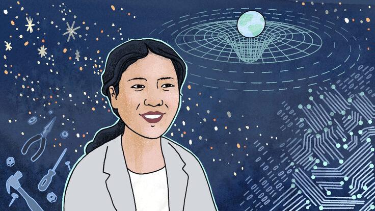 Scientist Reina Reyes