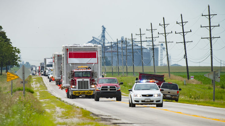Move of ICARUS detector from Morris, IL to Fermilab site
