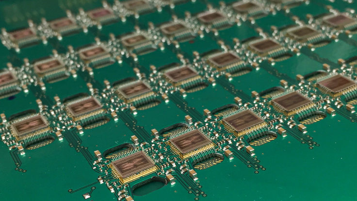 Pixel electronics