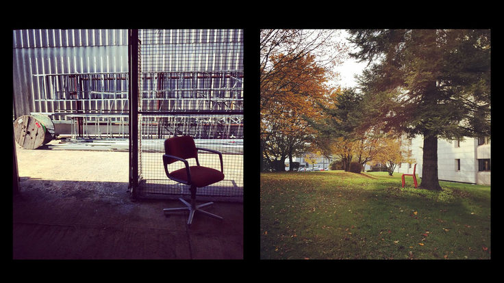 Photo: Lonely chairs
