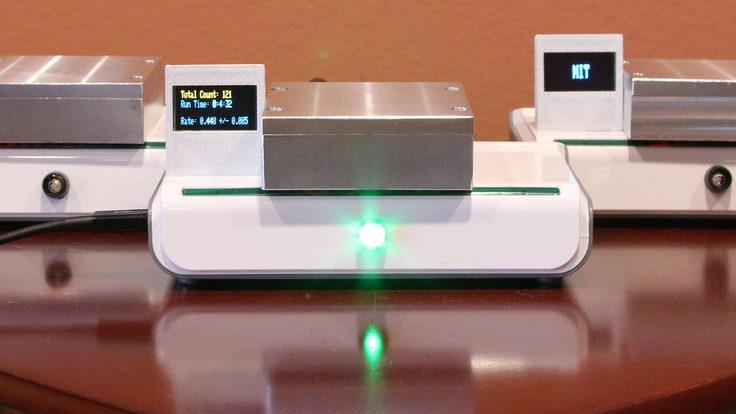 Desktop muon detector
