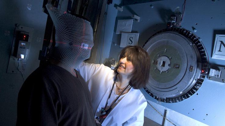 Photo: Neutron therapy patient