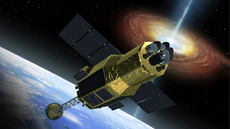 Photo of astro-h spacecraft