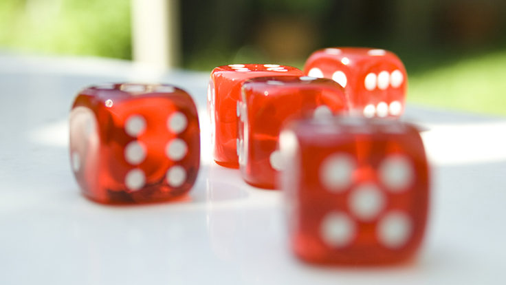 Photo of dice