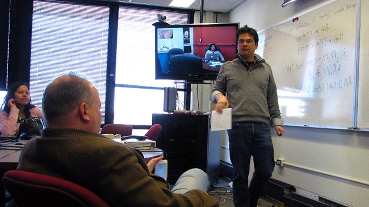 Photo of LPC physics forum