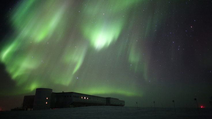Photo of neutrino astronomy