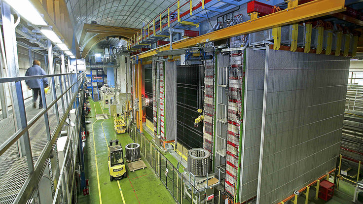 Photo of OPERA detector